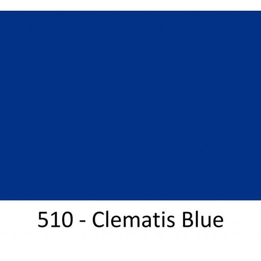 630mm Wide Oracal 551 Series High Performance Cal Vinyl - Clematis Blue 510
