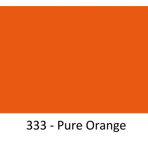Oracal 751 Cast Vinyl 333 Pure Orange 1260mm Wide (Self Adhesive)