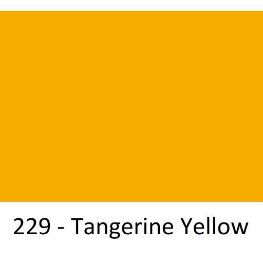 1260mm Wide Oracal 551 Series High Performance Cal Vinyl - Tangerine Yellow 229