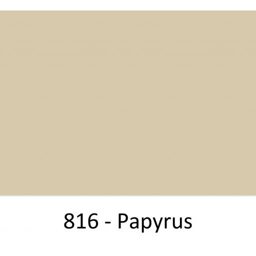 1520mm Wide Oracal 970 Rapid Air Premium Wrapping Cast Vinyl - Papyrus 816 Gloss