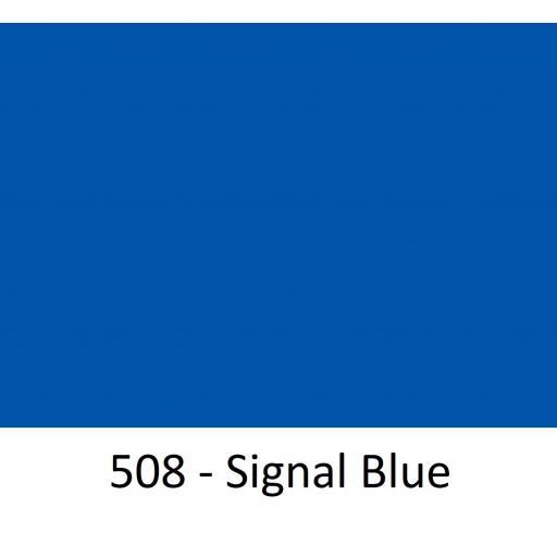 630mm Wide Oracal 551 Series High Performance Cal Vinyl - Signal Blue 508