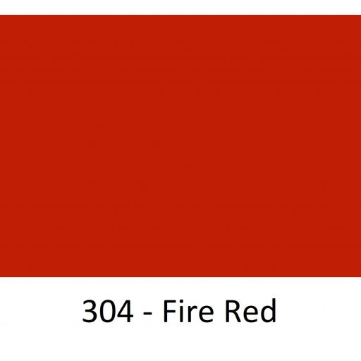 1260mm Wide Oracal 551 Series High Performance Cal Vinyl - Fire Red 304