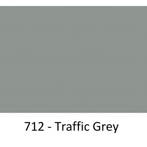 630mm Wide Oracal 551 Series High Performance Cal Vinyl - Traffic Grey 712