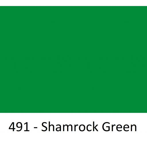 1260mm Wide Oracal 551 Series High Performance Cal Vinyl - Shamrock Green 491