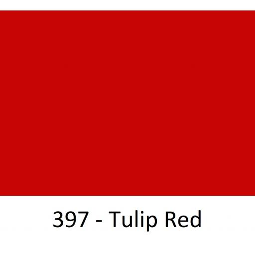 1260mm Wide Oracal 551 Series High Performance Cal Vinyl - Tulip Red 397