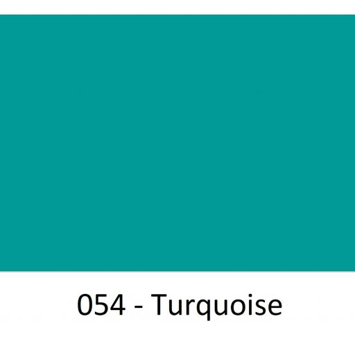 Oracal 751 Cast Vinyl 054 Turquoise 630mm Wide (Self Adhesive)