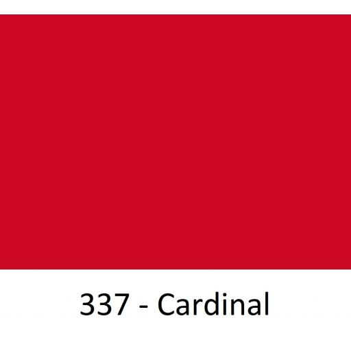 1260mm Wide Oracal 551 Series High Performance Cal Vinyl - Cardinal 337