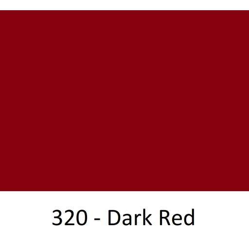 1260mm Wide Oracal 551 Series High Performance Cal Vinyl - Dark Red 320