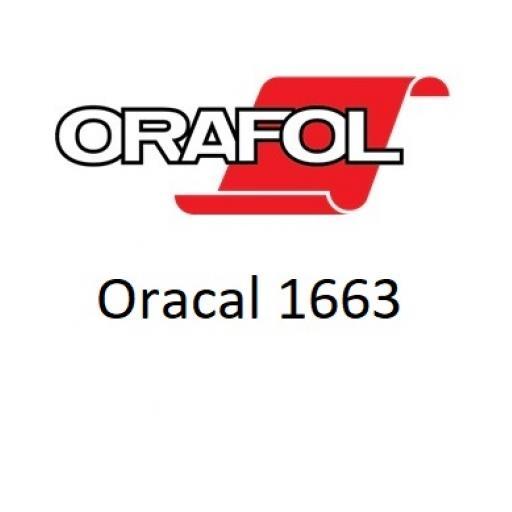 1370mm Wide Oracal 1663 Floor Vinyl - Gloss White