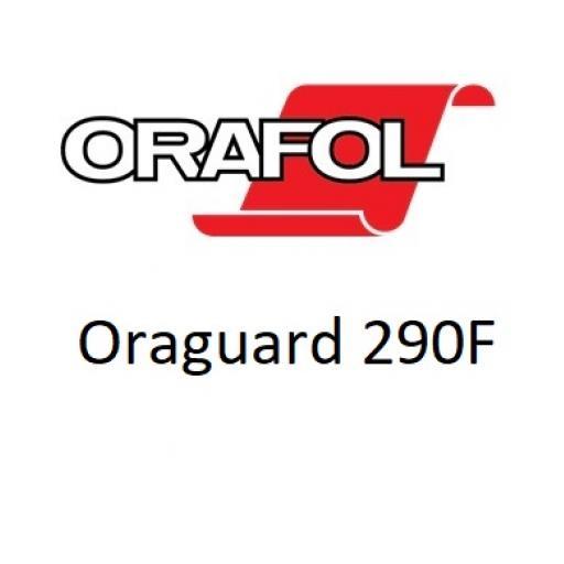 1370mm Wide Gloss Clear Oraguard 290F Film Back Laminate x 10 Metres