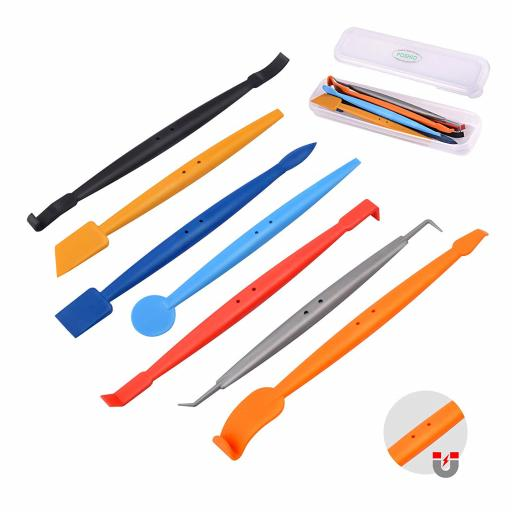 D-tec Micro Wrapping Squeegee 7 Piece Set