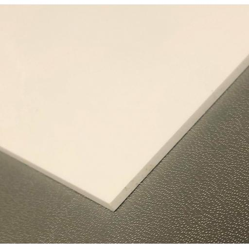 2440mm x 1220mm x 9mm White Polypropylene Sheet