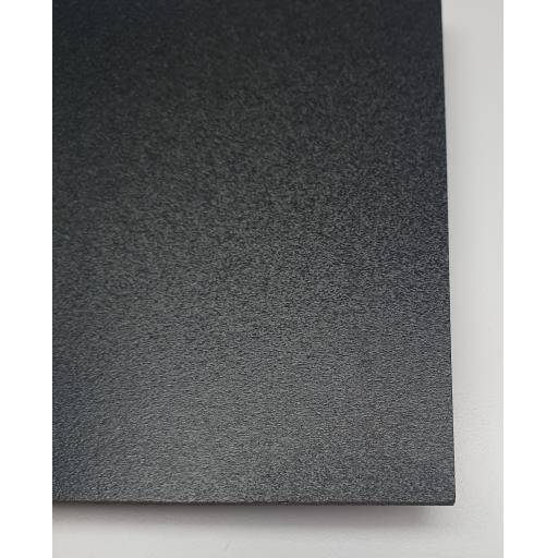2440mm x 1220mm x 3mm Black Foam PVC (Matt)