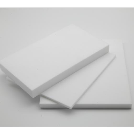 1mm Thick Virgin PTFE Sheet 600mm x 600mm