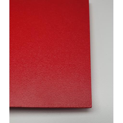 2440mm x 1220mm x 3mm Red Foam PVC (Matt)