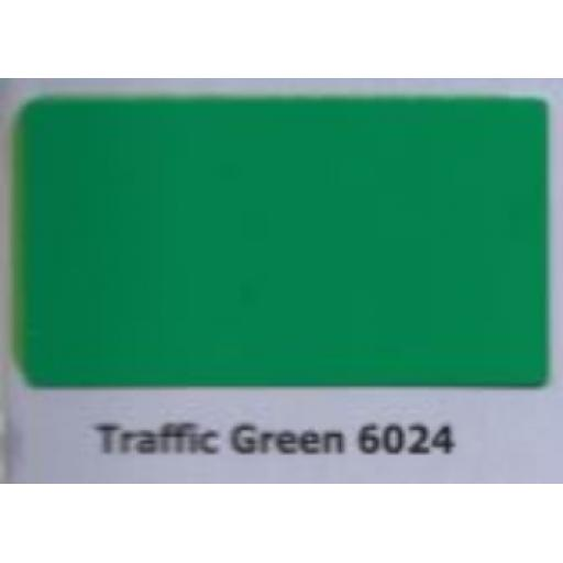 2440mm x 1220mm x 3mm Green Aluminium Composite Sheet (Gloss/Matt)