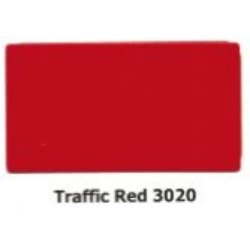 2440mm x 1220mm x 3mm Red Aluminium Composite Sheet (Gloss/Matt)