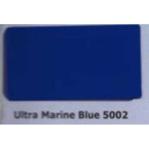2440mm x 1220mm x 3mm Blue Aluminium Composite Sheet (Gloss/Matt)
