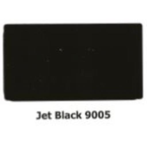 2440mm x 1220mm x 3mm Black Aluminium Composite Sheet (Gloss/Matt)