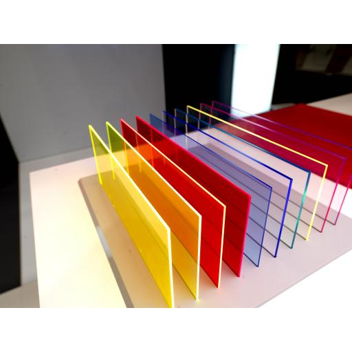 Perspex® Colours - Transparent and Tint Sheets