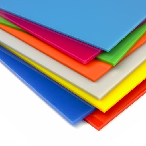 Perspex® Colours - Solid and Translucent Sheets