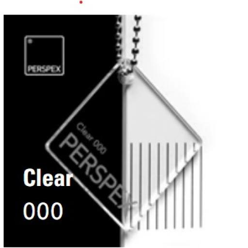 Clear Perspex® Cast Acrylic Sheet